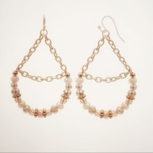 Panacea beaded earrings, fashion earrings